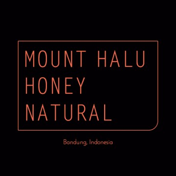 INDONESIA MOUNT HALU HONEY